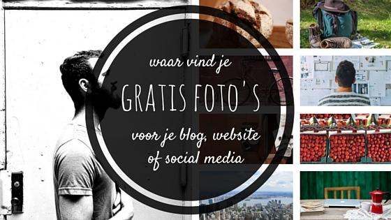 Waar vind je gratis foto's voor je blog of website?