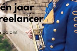 Een jaar freelancer de balans