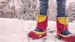 Koude voeten bij thuiswerk? Draag sneeuwschoenen.