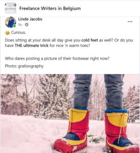 Koude voeten vermijden bij thuiswerk