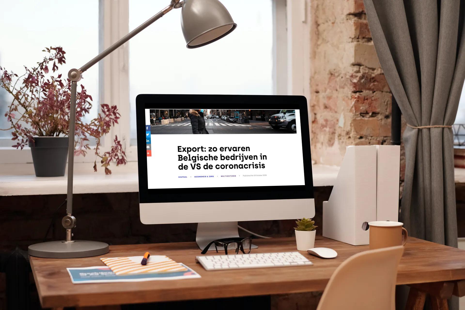 Heldere copywriting voor Brusselse ondernemers via hub.brussels